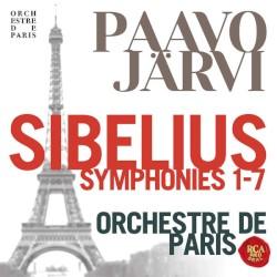 Symphonies 1-7 by Sibelius ;   Paavo Järvi ,   Orchestre de Paris