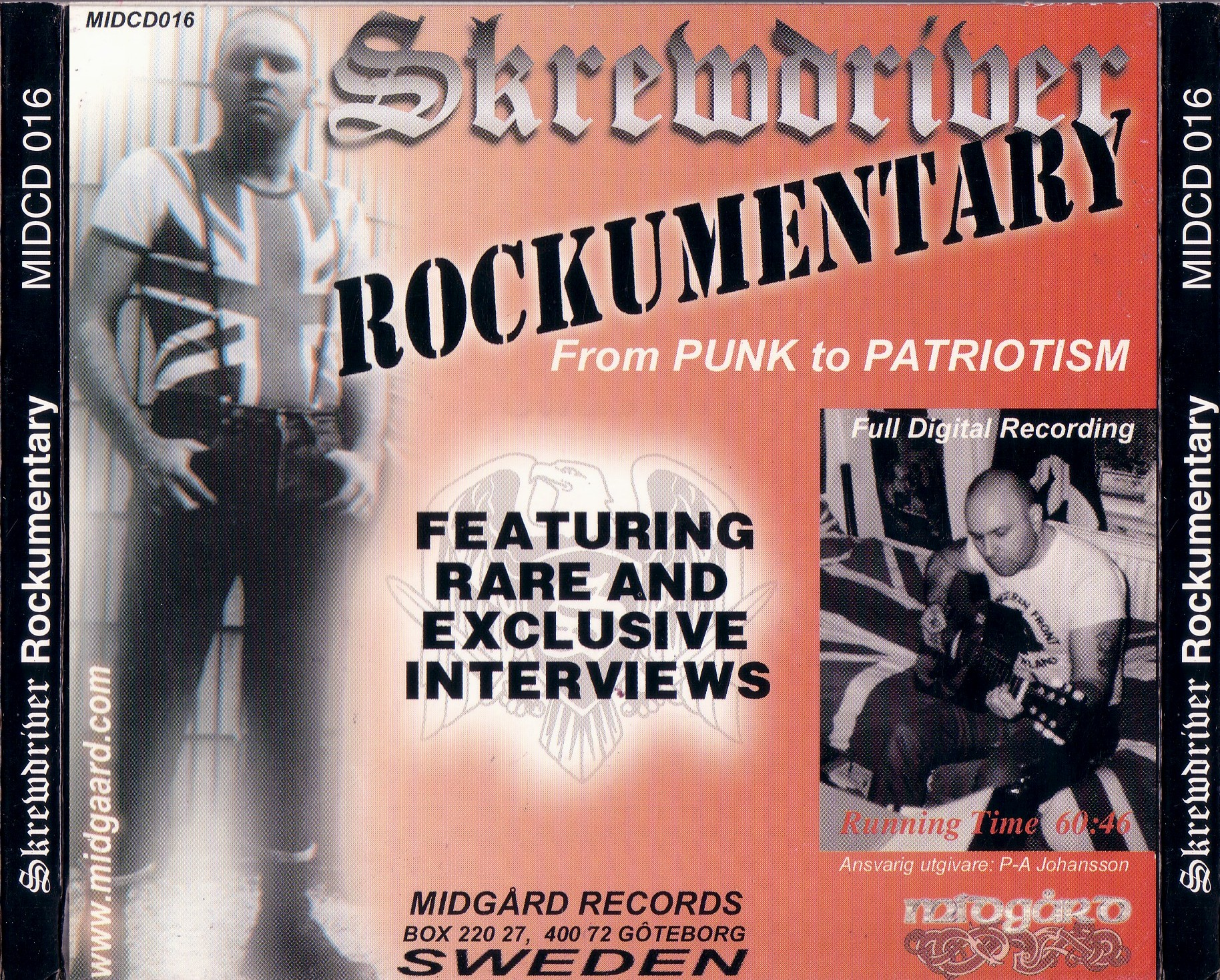 Skrewdriver Rockumentary 1977 To 1993 From Punk To ...