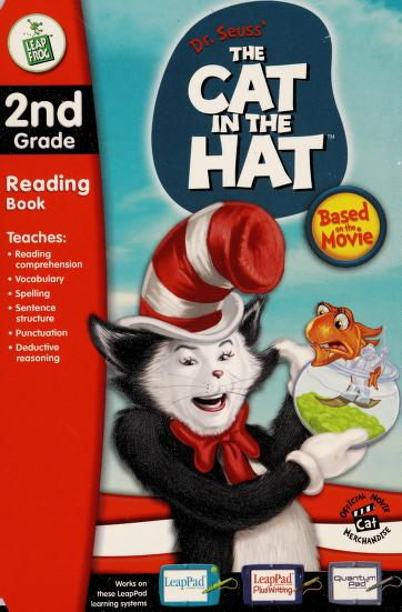 """LEAPPAD """"DR SEUSS'S CAT IN THE HAT"""" READING BOOK & CARTRIDGE (LEAPPAD, 2ND GRADE) by"""